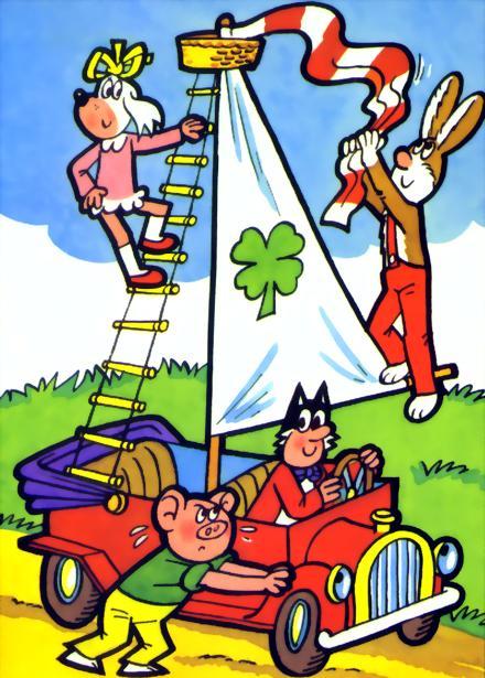 Čtyřlístek – čtyři desetiletí komiksu pro děti