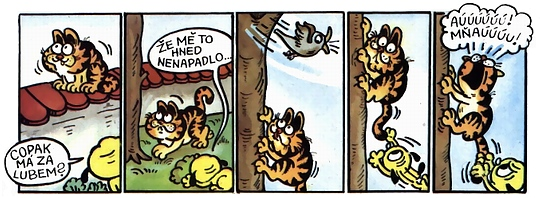 Barbánek a Garfield